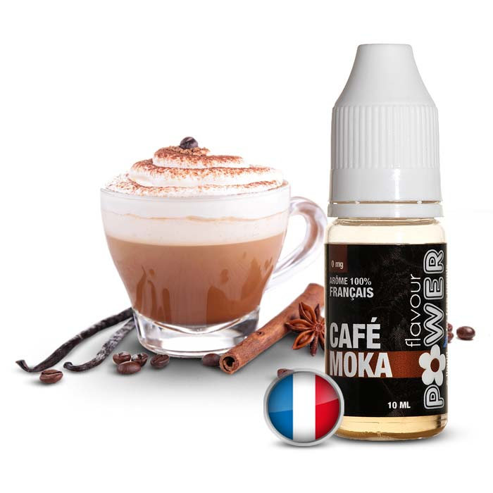 E-LIQUIDE FLAVOUR POWER CAFE MOKA
