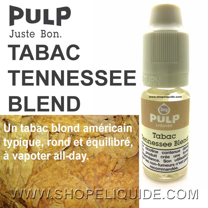 E-LIQUIDE PULP TABAC TENNESSEE BLEND