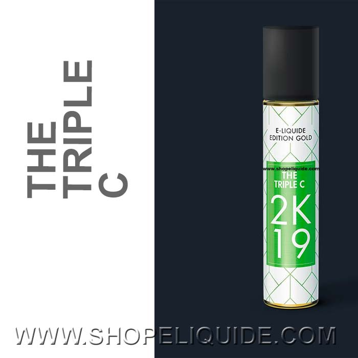 E-LIQUIDE 2K19 THE TRIPLE C 50 ML