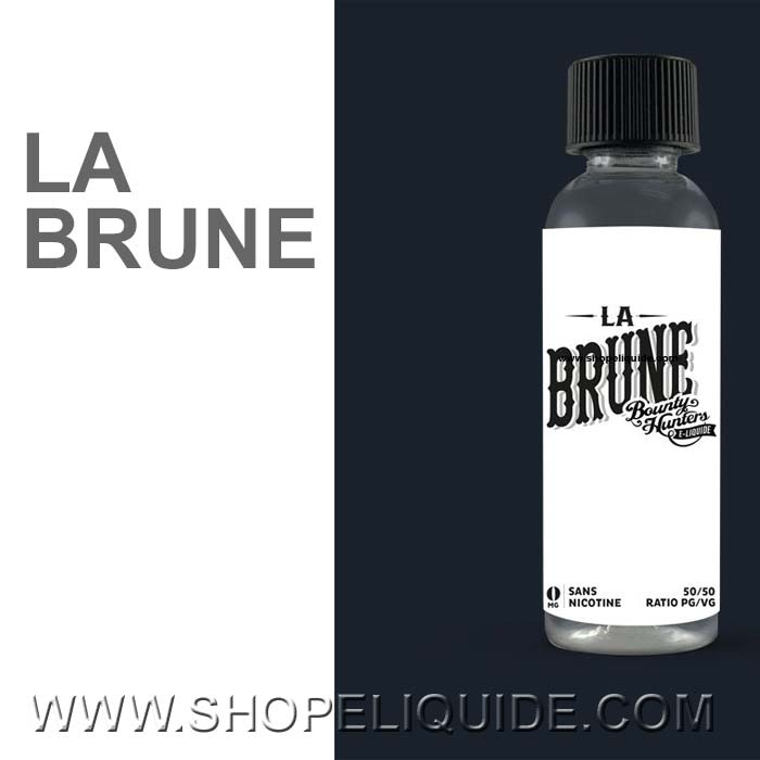 E-LIQUIDE BOUNTY HUNTERS LA BRUNE 50 ML