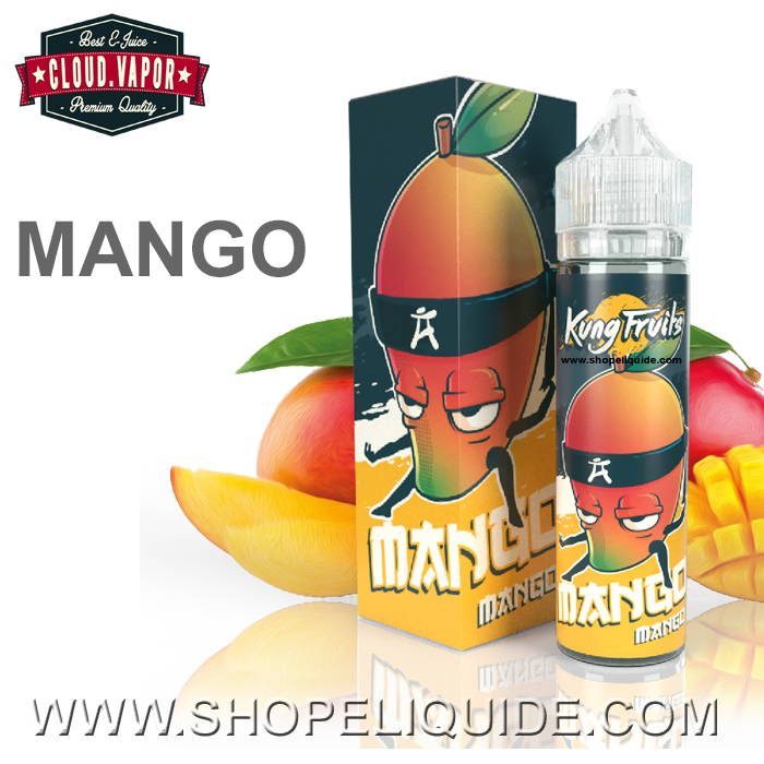 E-LIQUIDE CLOUD VAPOR KUNG FRUITS MANGO