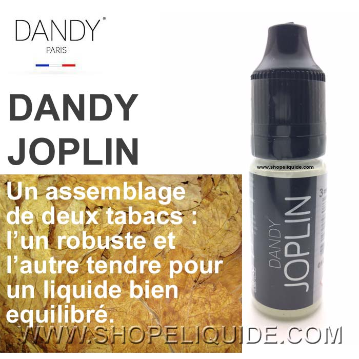 E-LIQUIDE LIQUIDEO DANDY JOPLIN 10 ML
