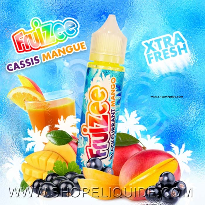 E-LIQUIDE ELIQUID FR FRUIZEE CASSIS MANGUE 50 ML