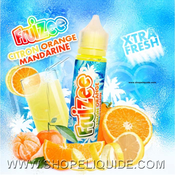 E-LIQUIDE ELIQUID FR FRUIZEE CITON ORANGE MANDARINE 50 ML