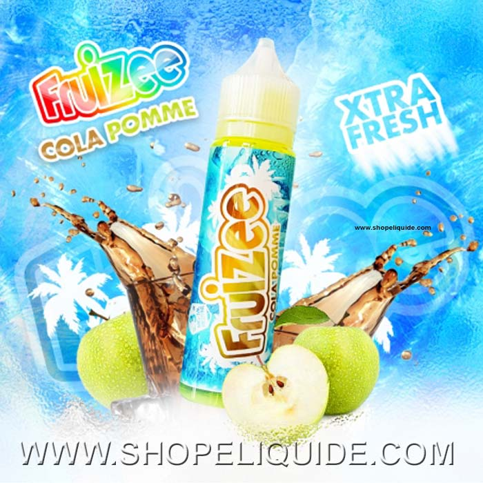 E-LIQUIDE ELIQUID FRANCE FRUIZEE COLA POMME 50 ML