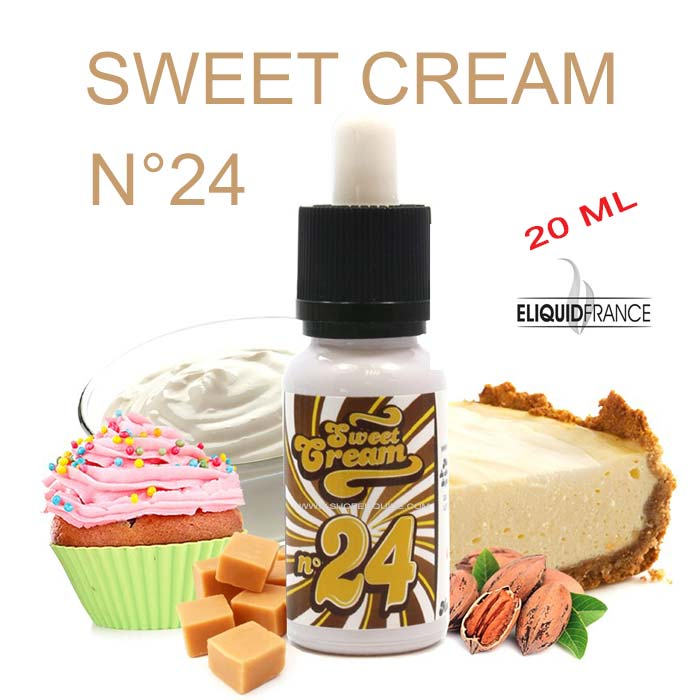 E-LIQUIDE ELIQUID FRANCE SWEET CREAM N 24
