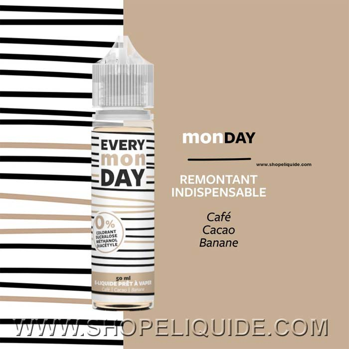 E-LIQUIDE EVERY DAY MONDAY 50 ML