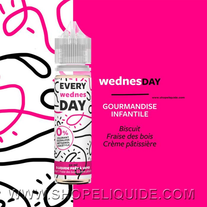 E-LIQUIDE EVERY DAY WEDNESDAY 50 ML