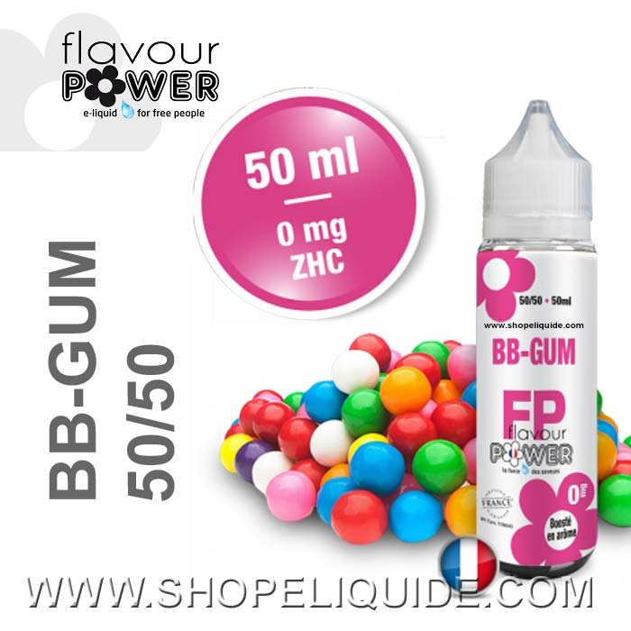 E-LIQUIDE FLAVOUR POWER BB-GUM 50 ML