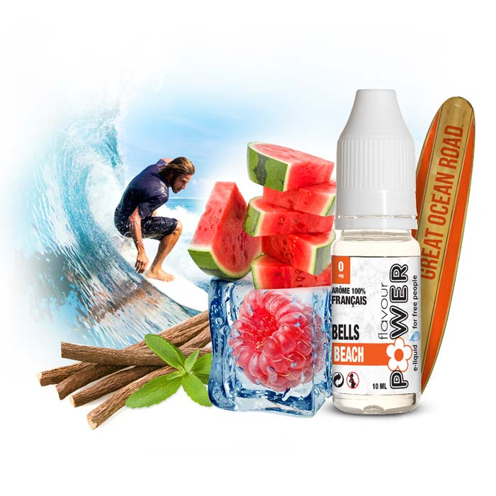 E-LIQUIDE FLAVOUR POWER BELLS BEACH 50/50