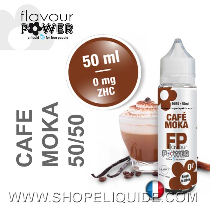 E-LIQUIDE FLAVOUR POWER CAFE MOKA 50 ML