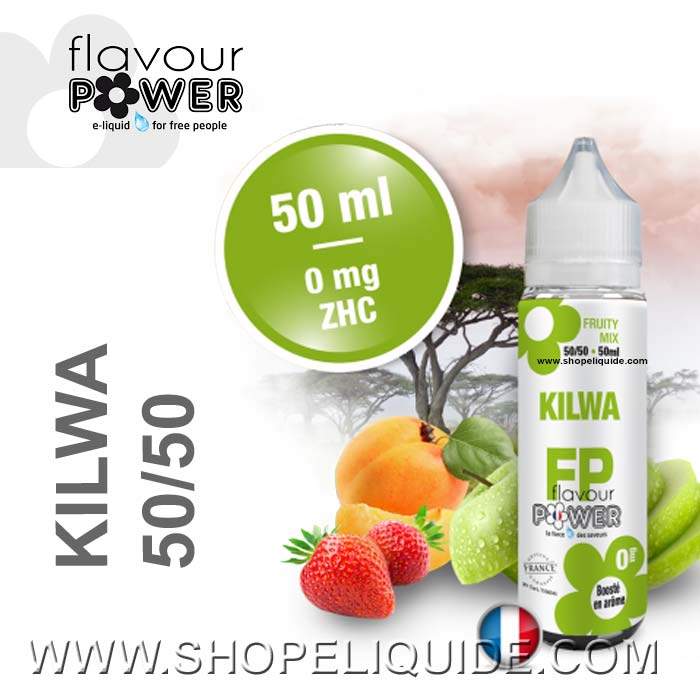 E-LIQUIDE FLAVOUR POWER KILWA 50 ML