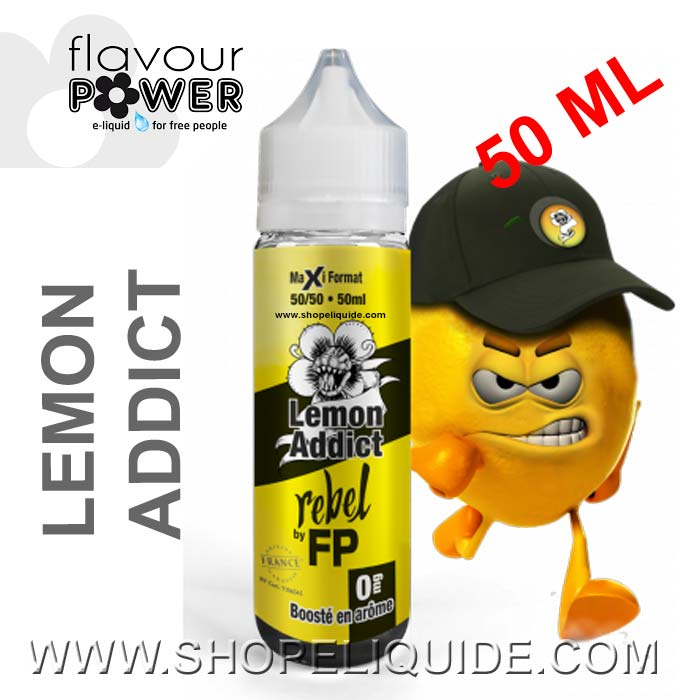 E-LIQUIDE FLAVOUR POWER REBEL LEMON ADDICT 50 ML