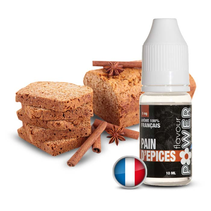 E-LIQUIDE FLAVOUR POWER PAIN D EPICES