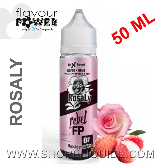E-LIQUIDE FLAVOUR POWER REBEL ROSALY 50 ML