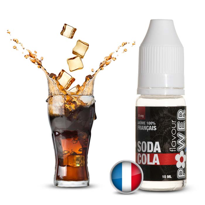 E-LIQUIDE POWER FLAVOUR SODA COLA