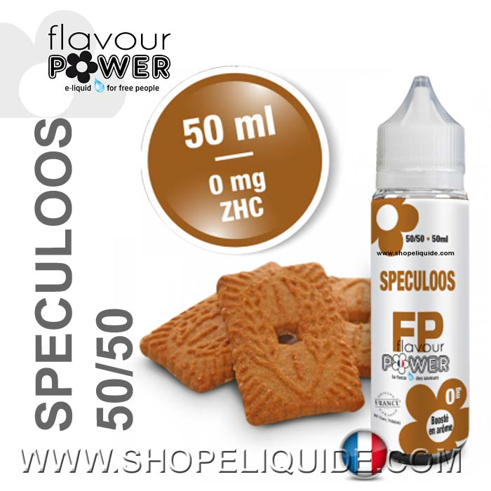E-LIQUIDE FLAVOUR POWER SPECULOOS 50 ML