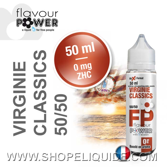 E-LIQUIDE FLAVOUR POWER VIRGINIE CLASSICS 50 ML