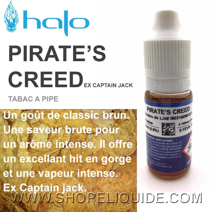 E-LIQUIDE HALO PIRATE S CREED