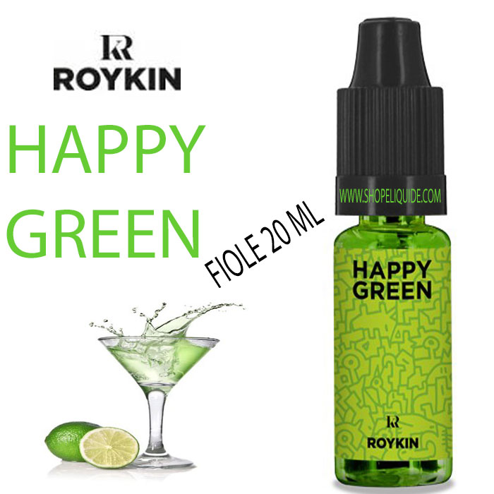E-LIQUIDE ROYKIN HAPPY GREEN