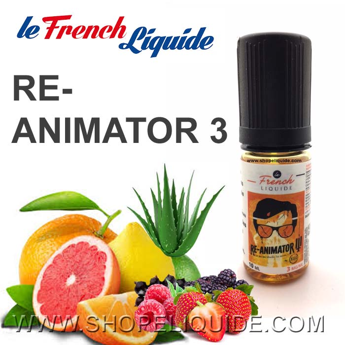 E-LIQUIDE LE FRENCH LIQUIDE RE ANIMATOR 3