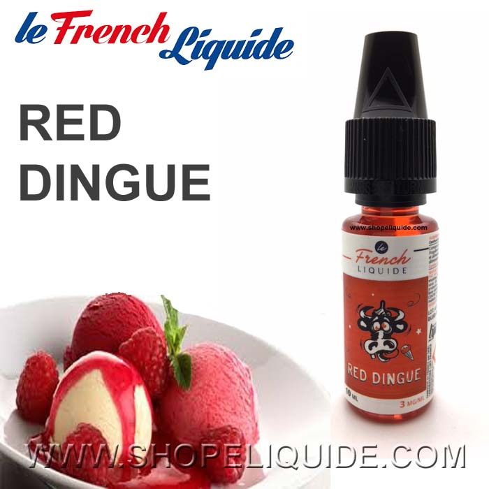 E-LIQUIDE LE FRENCH LIQUIDE RED DINGUE