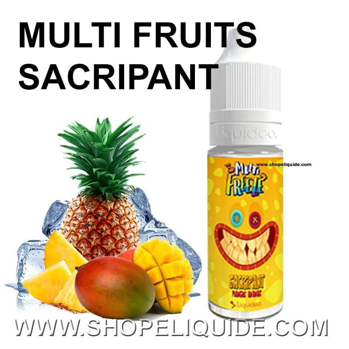 E-LIQUIDE LIQUIDEO FREEZE MULTI FRUITS SACRIPANT 10 ML