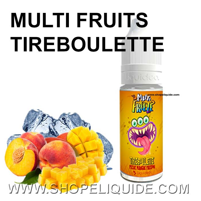 LIQUIDEO FREEZEE MULTI FRUITS TIRBOULETTE 10 ML