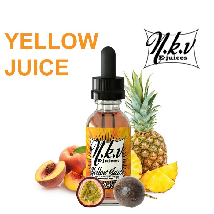 E-LIQUIDE N.K.V YELLOW JUICE 30 ML