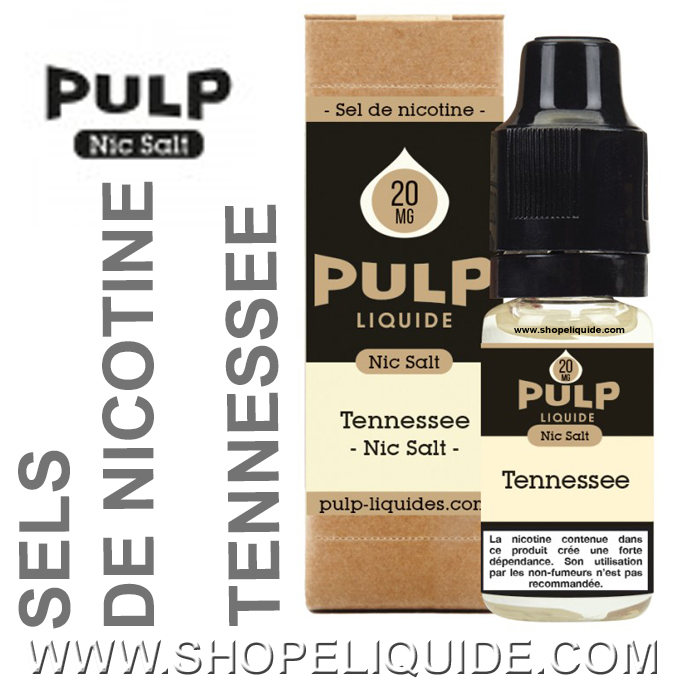 PULP TENNESSEE SELS DE NICOTINE