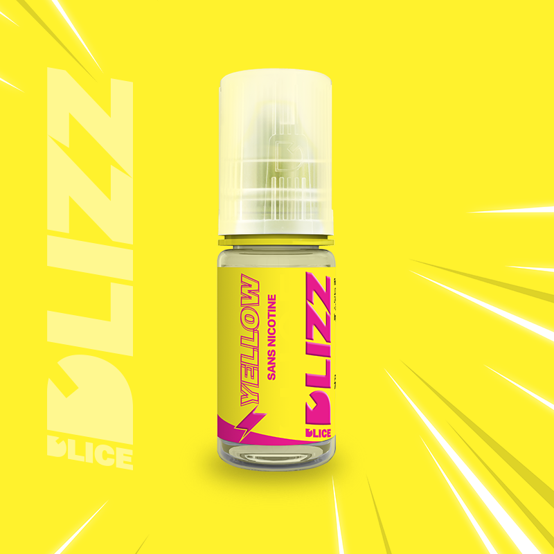 E-LIQUIDE DLICE DLIZZ YELLOW