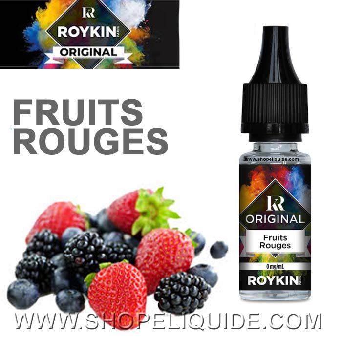 E-LIQUIDE ROYKIN FRUITS ROUGES