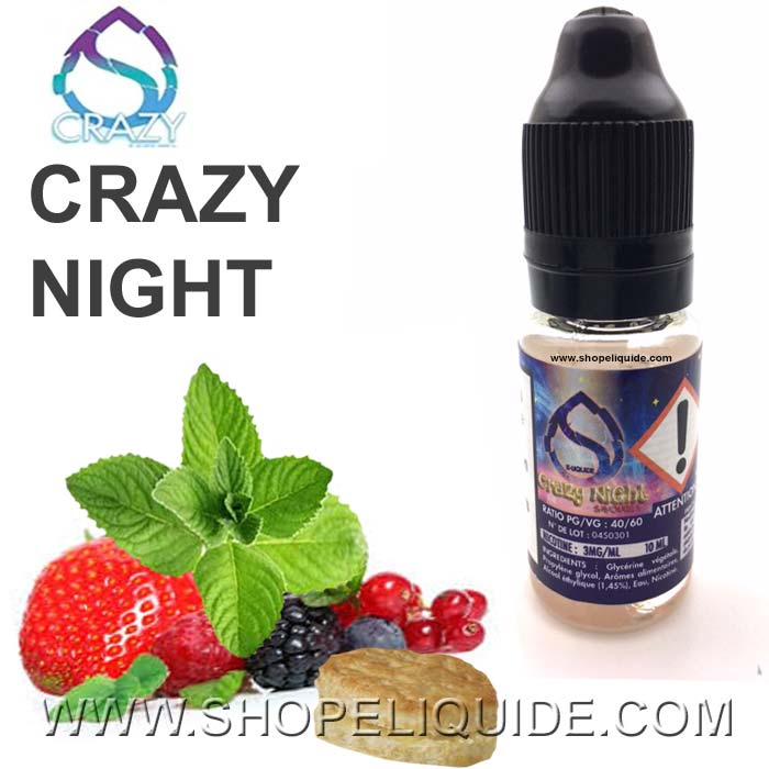 E-LIQUIDE CRAZY NIGHT
