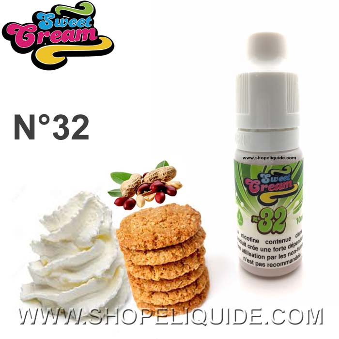E-LIQUIDE ELIQUID FRANCE SWEET CREAM N 32