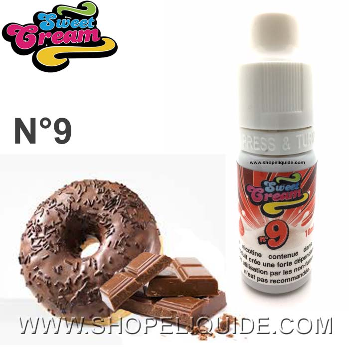 E-LIQUIDE ELIQUID FRANCE SWEET CREAM N 9