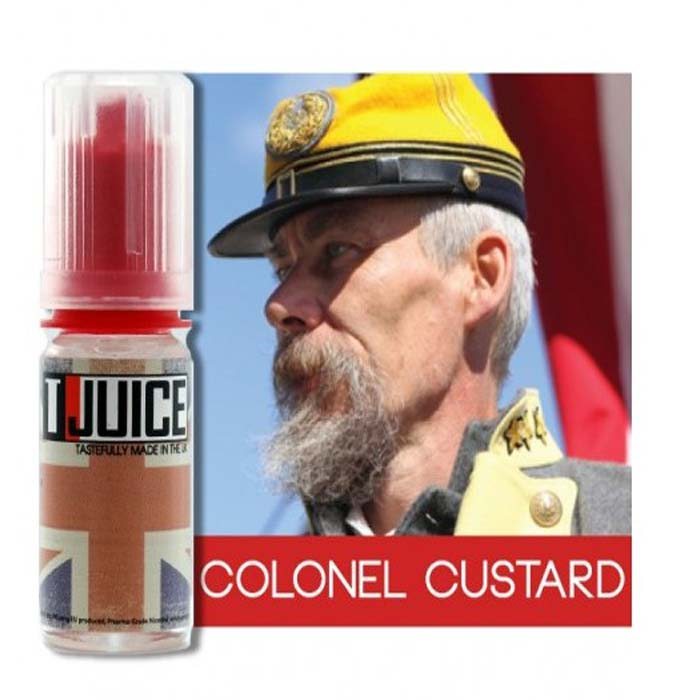 E-LIQUIDE T-JUICE COLONEL CUSTARD 10 ML