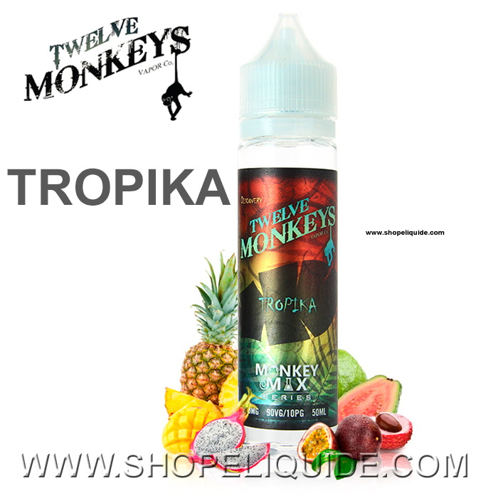 E-LIQUIDE TWELVE MONKEYS TROPIKA