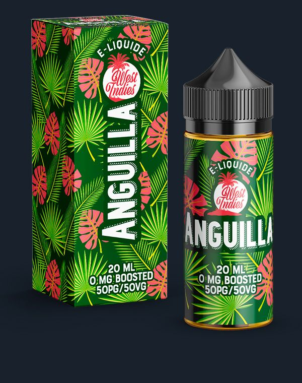 E-LIQUIDE WEST INDIES ANGUILLA 20 ML