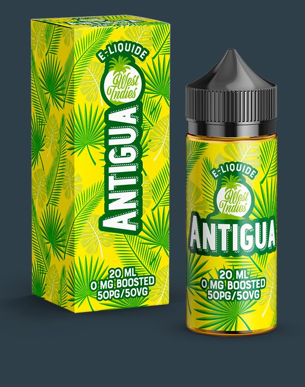 E-LIQUIDE WEST INDIES ANTIGUA 20 ML