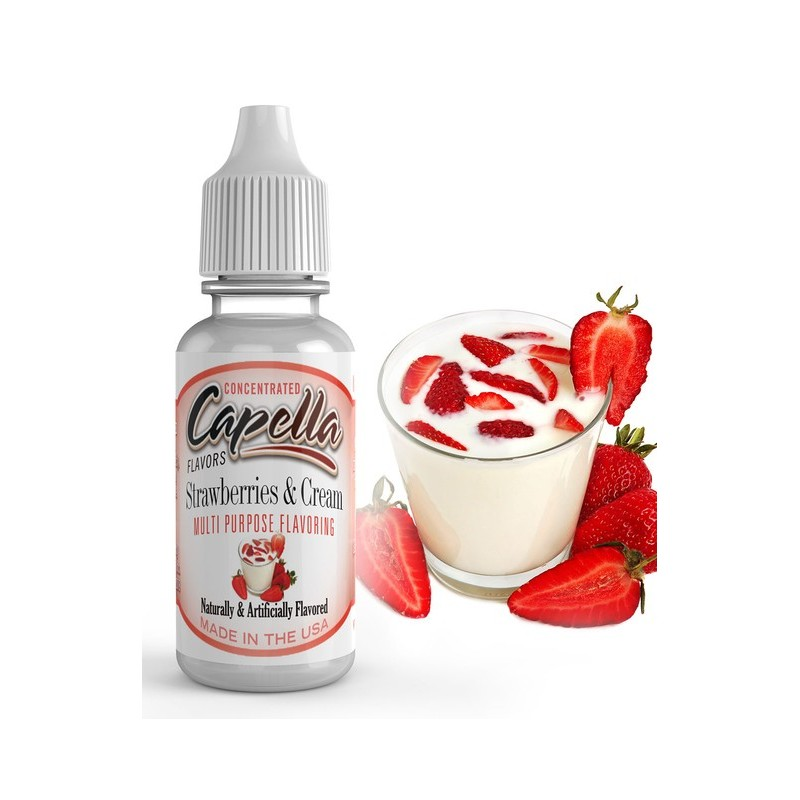 AROME CAPELLA STRAMBERRY CREAM