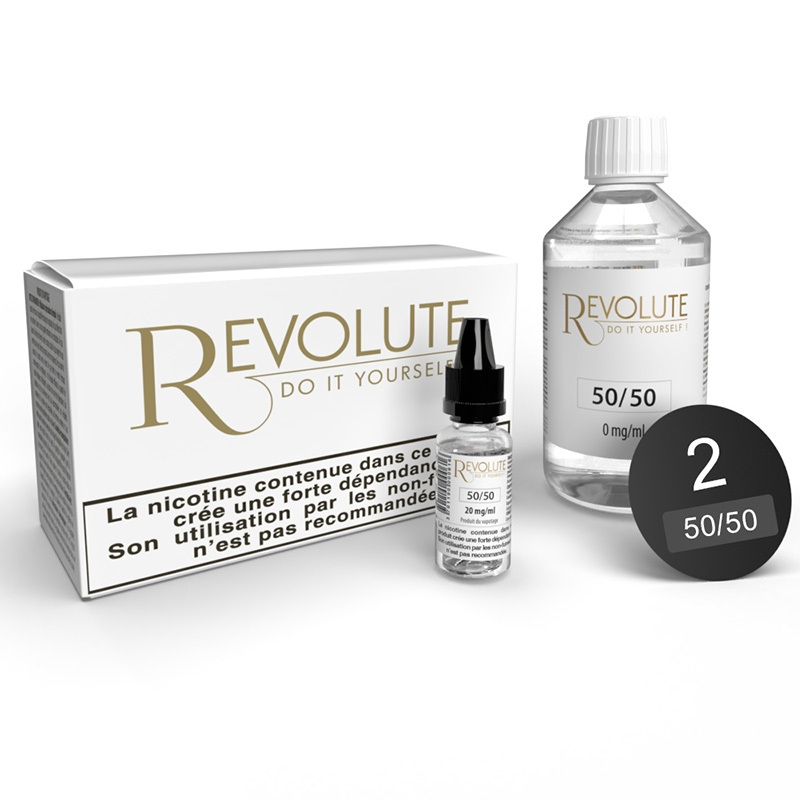 Pack 100 ml Base DIY 50/50 Revolute