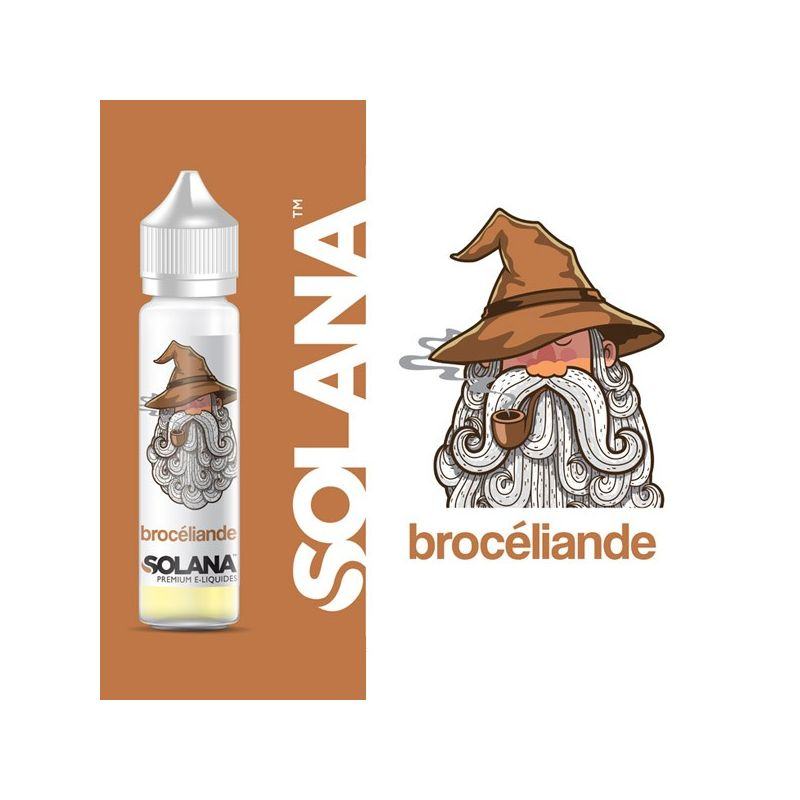 E-LIQUIDE SOLANA BROCELIANDE 50 ML