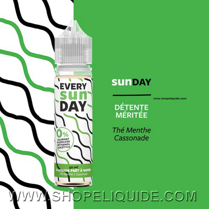 E-LIQUIDE EVERY DAY SUNDAY 50 ML