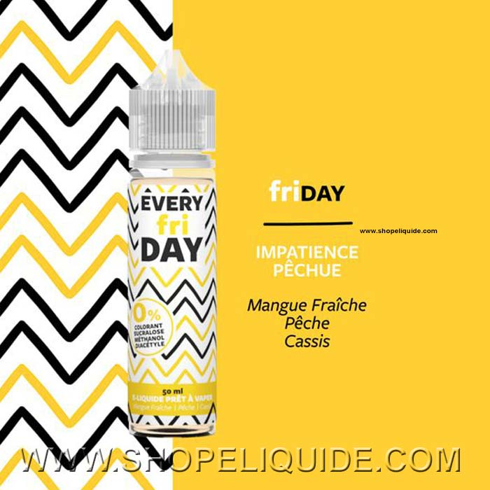 E-LIQUIDE EVERY DAY FRIDAY 50 ML