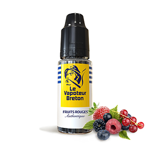 E-LIQUIDE LE VAPOTEUR BRETON FRUITS ROUGES