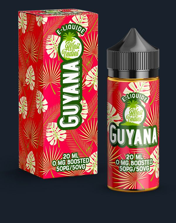 E-LIQUIDE WEST INDIES GUYANA 20 ML