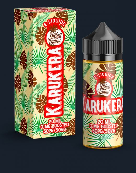 E-LIQUIDE WEST INDIES KARUKERA 20 ML