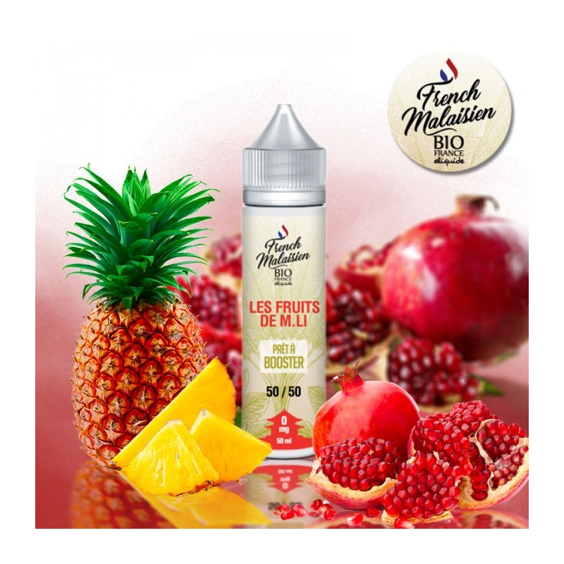 E-LIQUIDE BIO FRANCE LE FRUITS M LI 50 ML