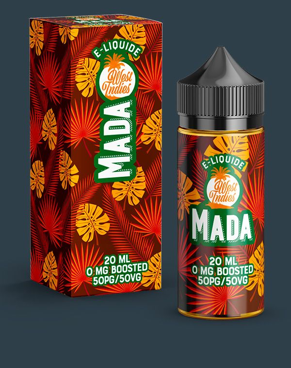 E-LIQUIDE WEST INDIES MADA 20 ML