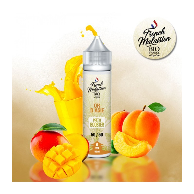E-LIQUIDE BIO FRANCE OR D ASIE 50 ML